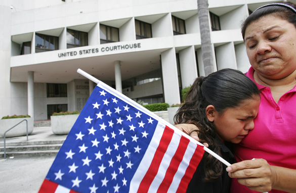 States deny citizenship to children born of illegal immigrants?