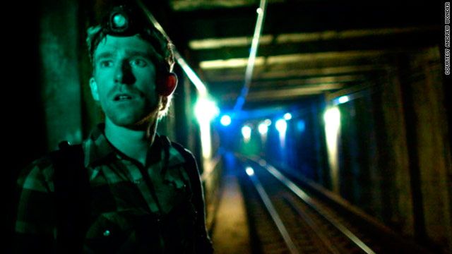 "Subway explorer reveals NYC's ""Undercity"""