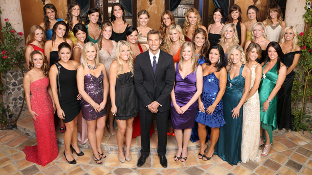 Brad meets the ladies (and a vampire) on 'The Bachelor'
