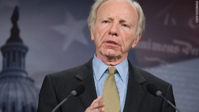 Lieberman hints at Senate future