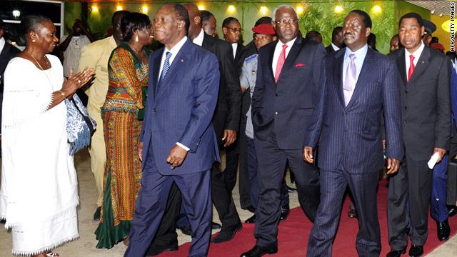 Ivory Coast envoy still optimistic talks can succeed