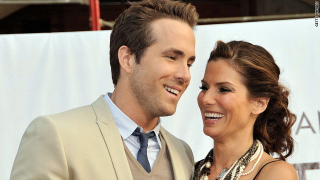 'Showbiz Tonight' Flashpoint: Ryan Reynolds and Sandra Bullock as a couple?