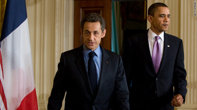 Obama to meet with Sarkozy