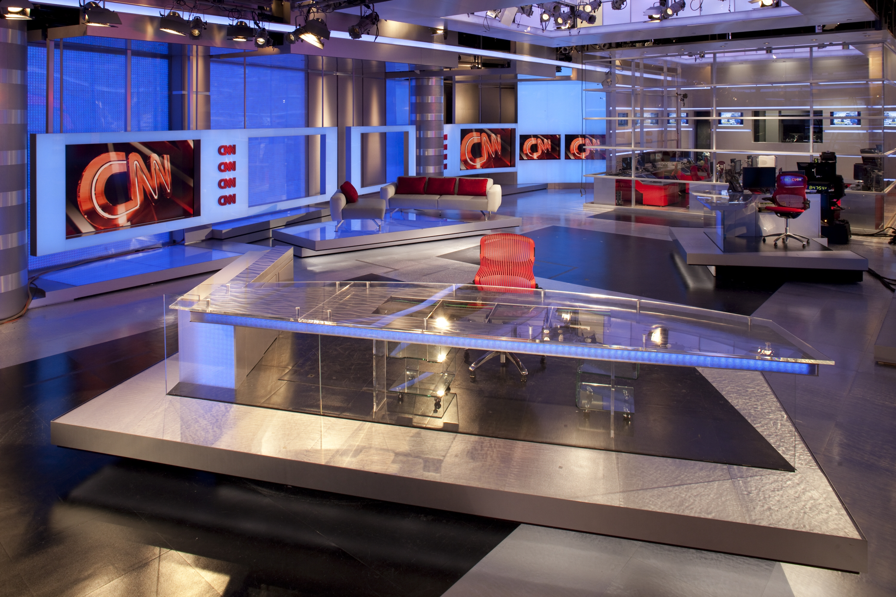 CNN Atlanta's Brand New Studio
