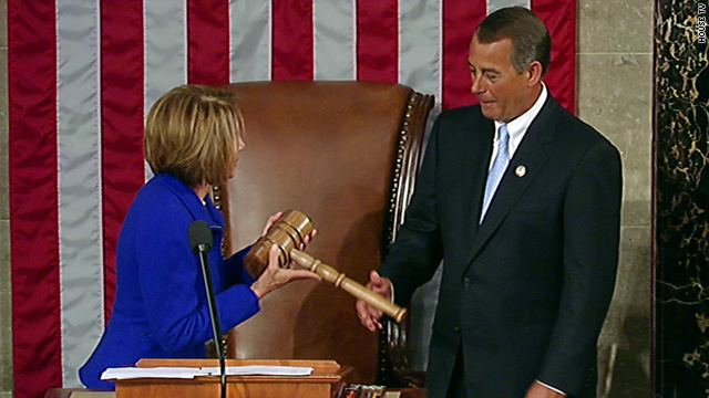 Boehner takes charge as new Congress convenes