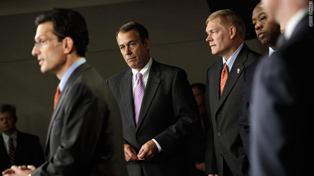 House Republicans dial back on promises