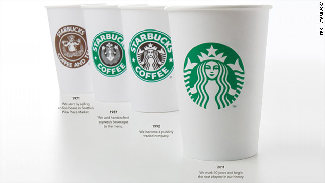Starbucks strips down its signature siren
