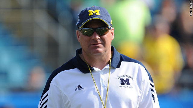 Michigan fires coach Rich Rodriguez