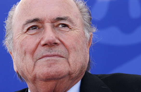 FIFA chief Sepp Blatter had a busy year as the boss of world football in 2010.