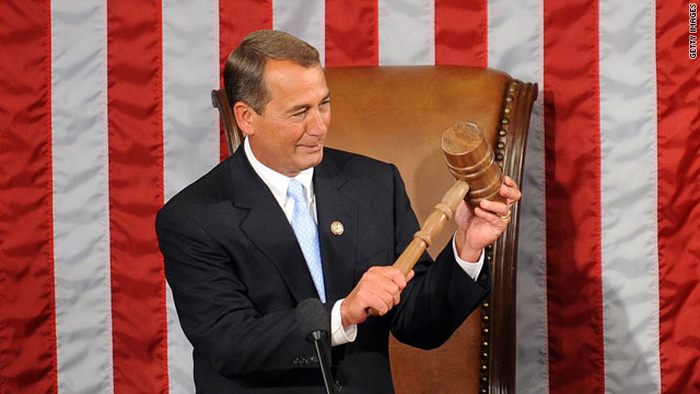 Boehner hosts cocktail reception for RNC members