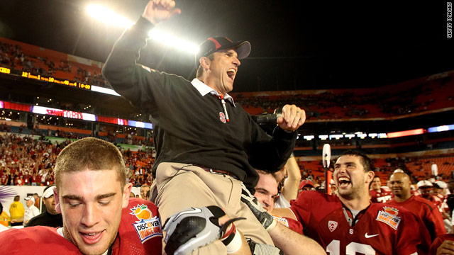 SI.com: Who&#039;s in the hunt for Jim Harbaugh?