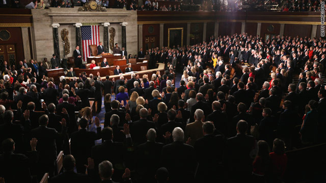 House members read the Constitution