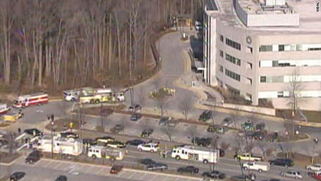 2 injured in explosions at Maryland state offices
