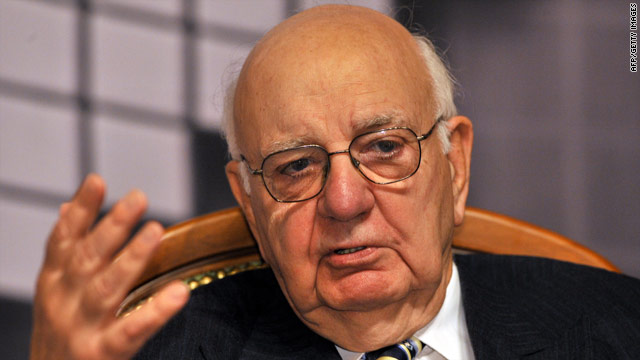 Volcker stepping down from White House advisory post