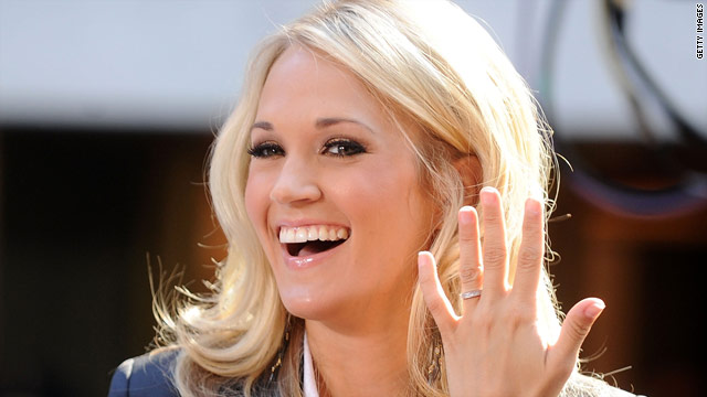 Carrie Underwood loves being a 'hockey wife'
