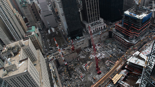 Ground zero construction workers win second prize in lottery drawing