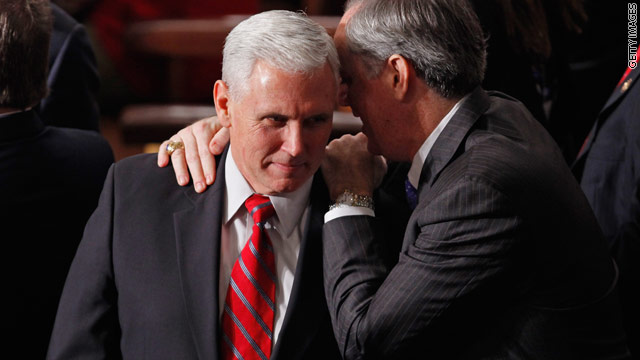Conservatives organize to draft Pence in 2012