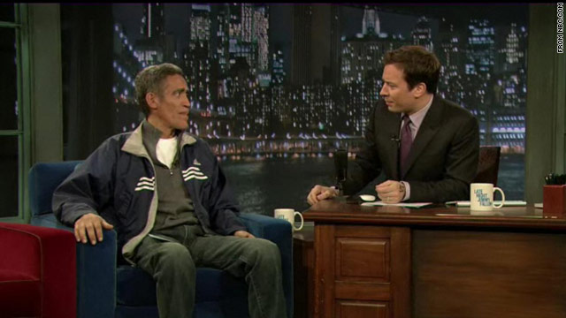 Ted Williams takes 'golden voice' to 'Late Night with Jimmy Fallon'