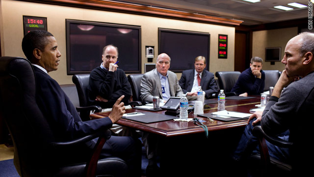 Picture: Obama in Situation Room to discuss Arizona shooting