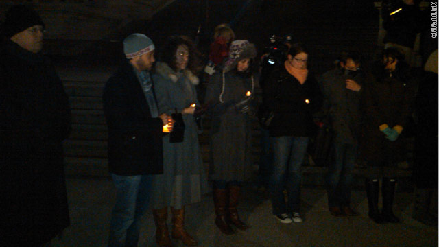 Dozens gather for Capitol Hill vigil