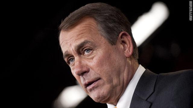 Boehner condemns 'heinous' acts