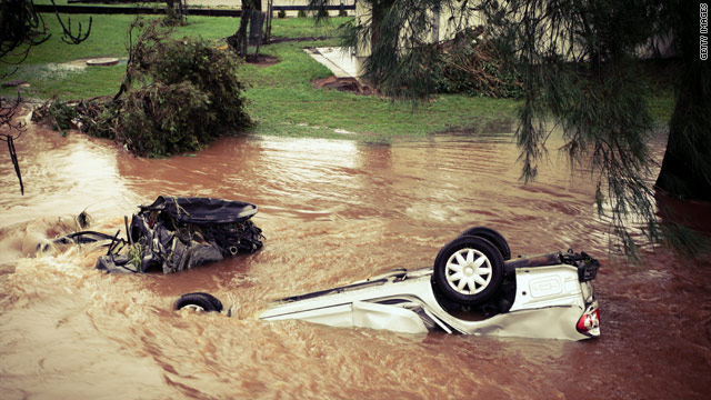 8 dead, 70 missing after Australian flash floods