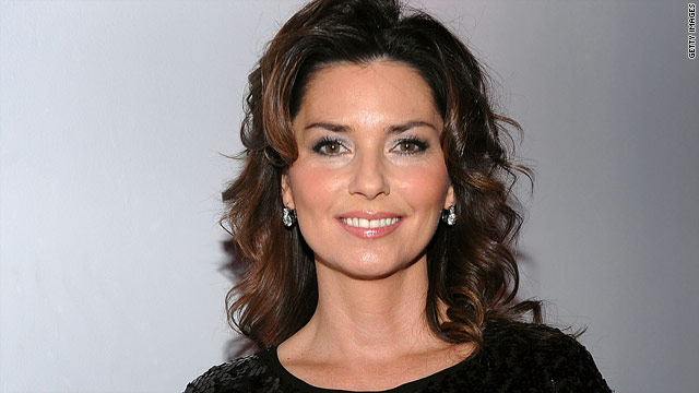 Shania Twain not comfortable singing anymore