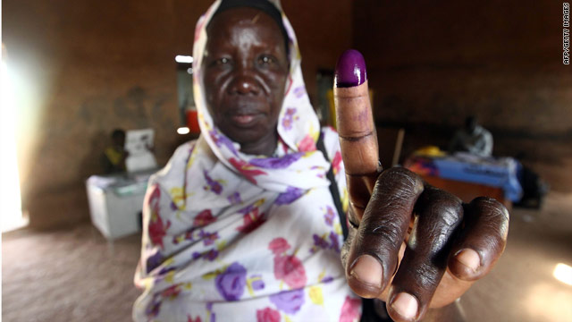 Thousands vote in Southern Sudan as violence flares in disputed region