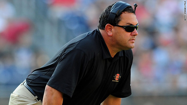 Michigan hires San Diego State's Hoke
