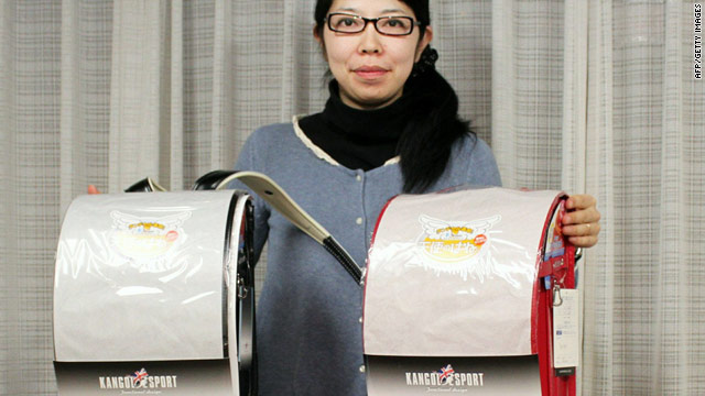 Gifts from 'comic heroes' help Japan's orphans