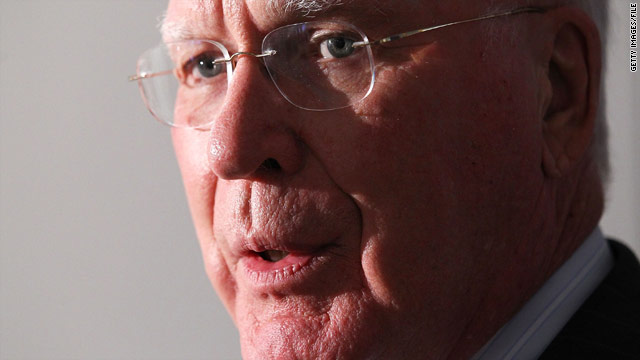 Sen. Leahy's flight diverted; forced to land in Philadelphia