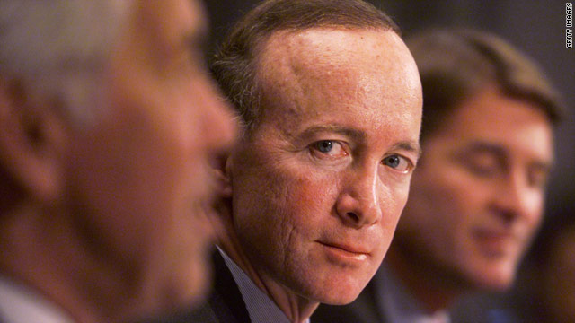 Indiana Gov. Mitch Daniels says sorry, not running for president