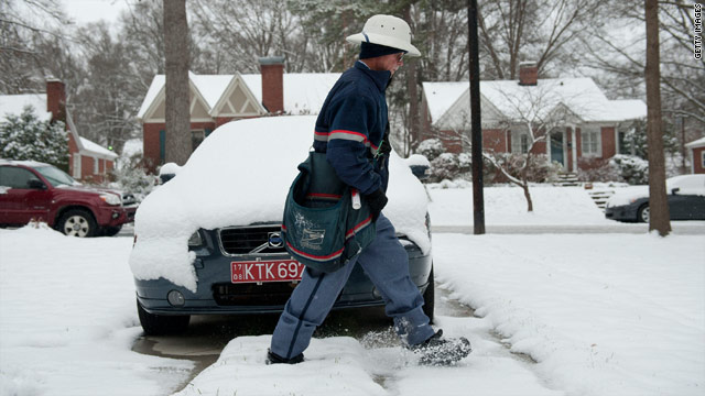 Winter storm cripples South, heads north to deliver more misery