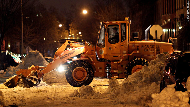 New York City issues emergency weather declaration to keep streets clear