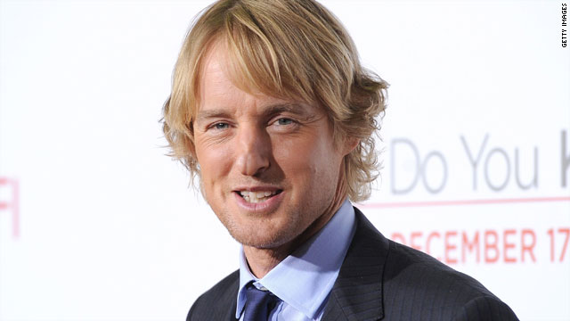 Owen Wilson&#039;s going to be a dad