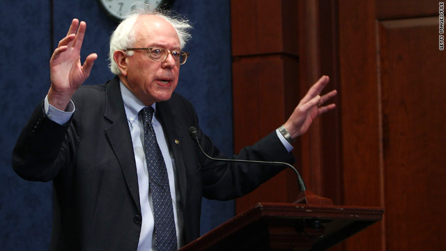 Sanders stirs up 2016 speculation, says he's got a 'damn good platform' to run on