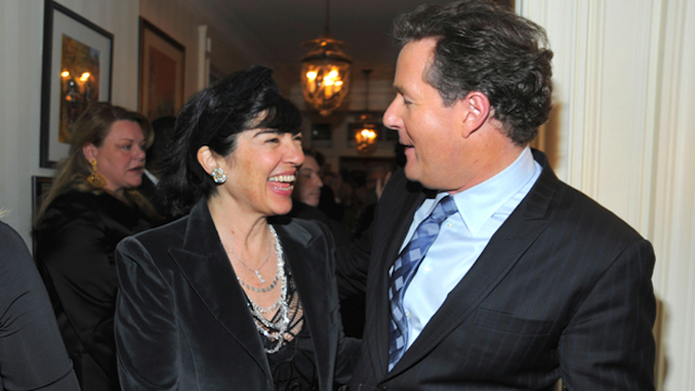 Piers Morgan Launch Party: With Daily Beast, Diller, DVF, Diane...