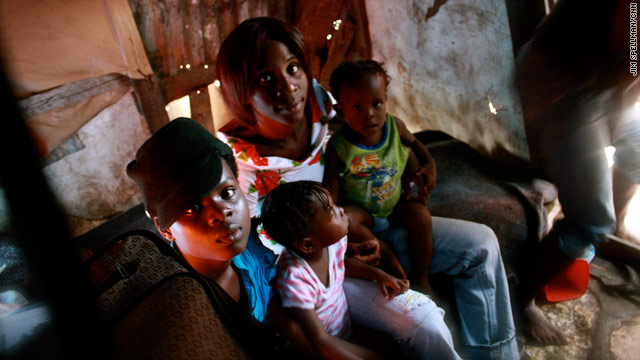 Reuniting families in Haiti a year later