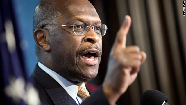 Herman Cain talks to CNN on announcing presidential exploratory committee