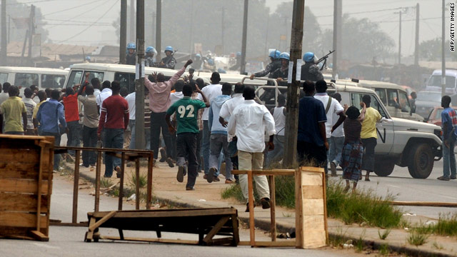 U.N.: 3 peacekeepers shot in Ivory Coast