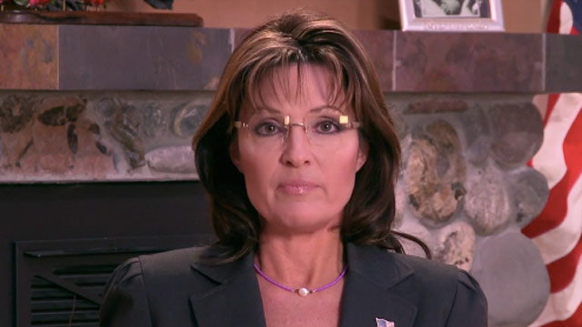 Palin says efforts to lay blame 'reprehensible'