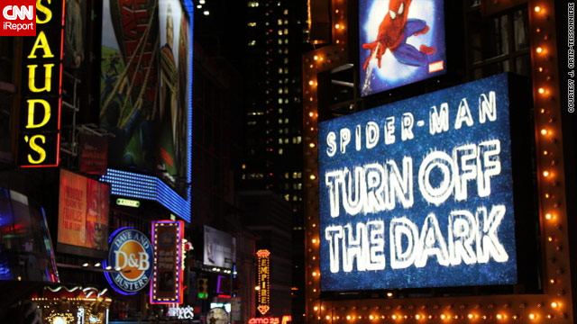 'Spider-Man' musical top seller on Broadway