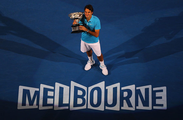 Roger Federer claimed the 2010 Australian Open, but should the season's first grand slam take place in January?