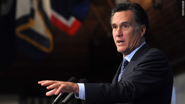 Romney resigns from Marriott board