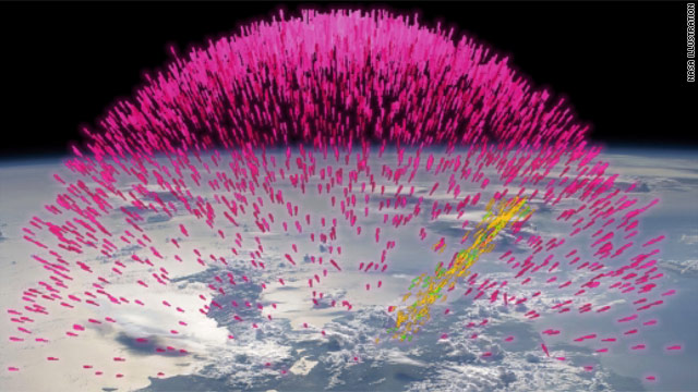 NASA: Storms blast antimatter into space