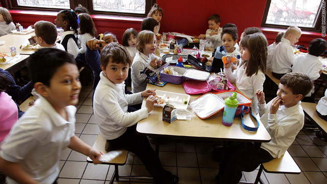 Feds to tighten school nutrition standards