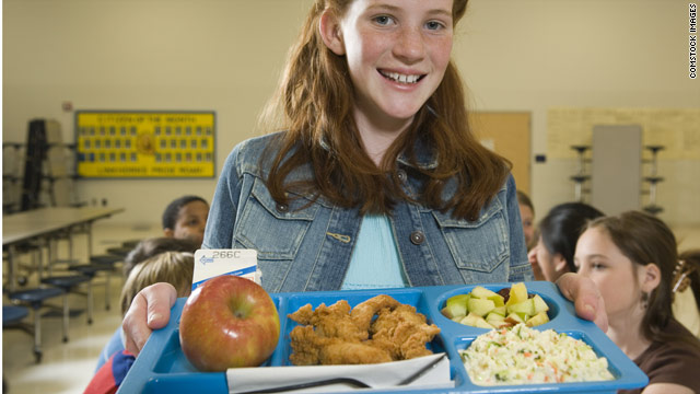 Lunchtime poll – healthier school food