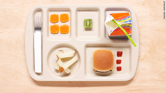 USDA unveils higher school nutrition standards