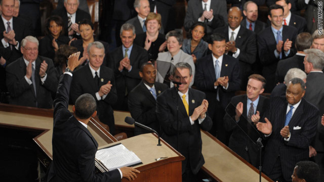 Bipartisan State of the Union seating gets traction