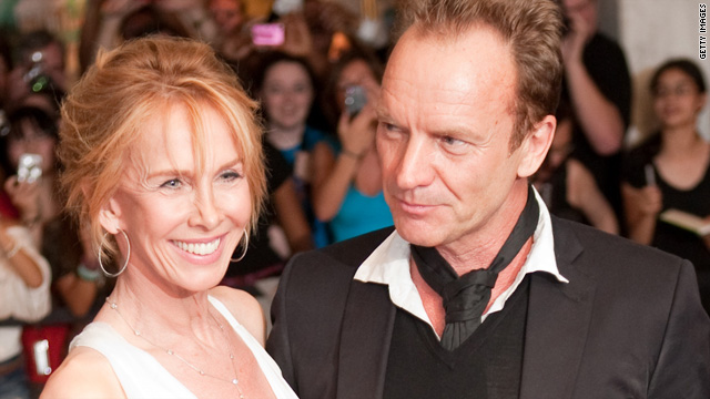 Sting's happy-marriage secret? Tawdry sex